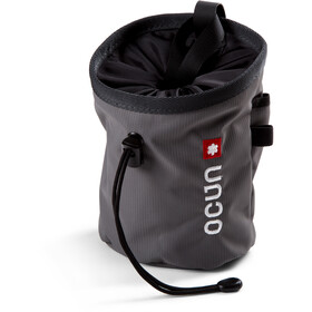 Ocun Push + Belt Chalk Bag grey twist